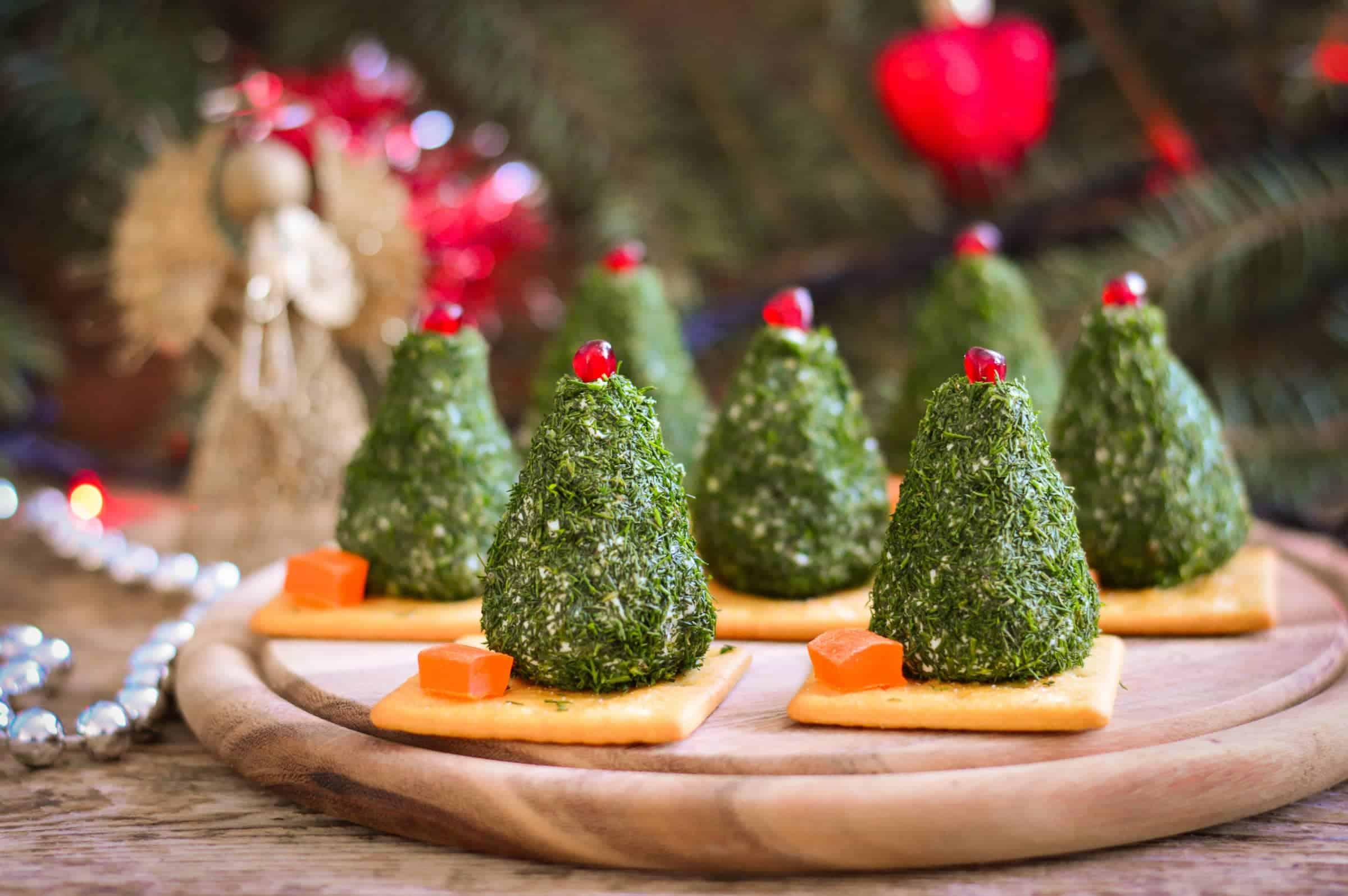 Alberelli di Natale di Formaggio